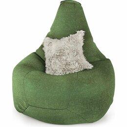 Кресла-мешки - 8 цветов! Кресло-мешок Шарм-Дизайн Груша рогожка зеленый, 0