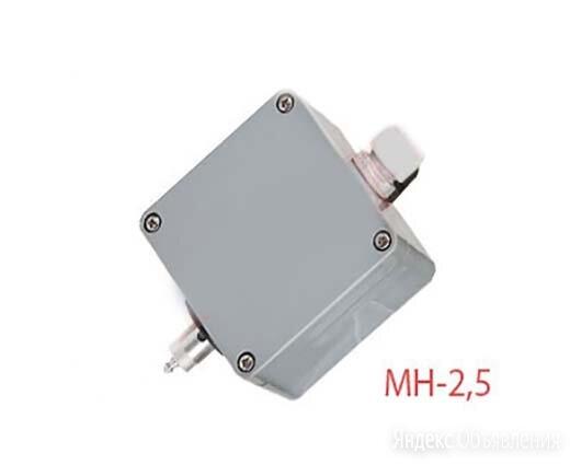 МН-2,5 измерительный преобразователь на метан по цене 9293₽ - Элементы систем отопления, фото 0
