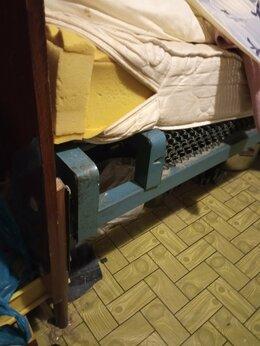 Кровати - кровать с матрасом б/у, 0