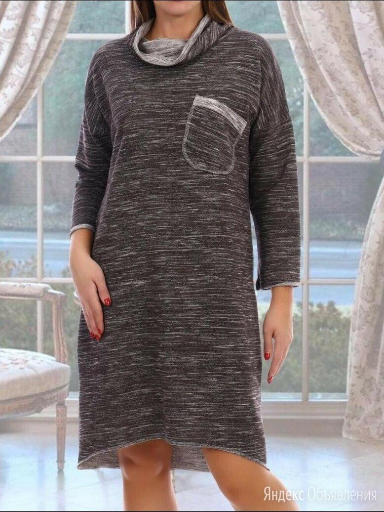 Тёплое платье 56 размера по цене 800₽ - Платья, фото 0