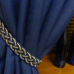 Шторы - Комплект синих штор Индиго, 5 метров, 0