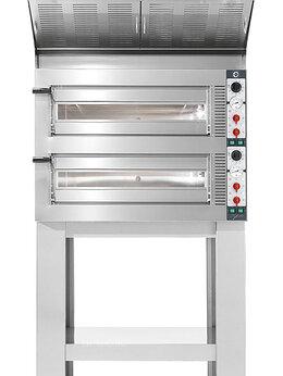 Жарочные и пекарские шкафы - Печь для пиццы Cuppone Tiepolo TP435/2CM + зонт…, 0