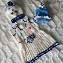 Комплекты - Вязаное платьице на девочку!🌸, 0