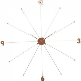 Часы настенные - Часы настенные круглые золото Like Umbrella, 0