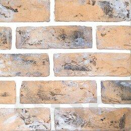 Облицовочный камень - Искусственный камень 240 арт.плитка Старый кирпич (0,5м2), 0