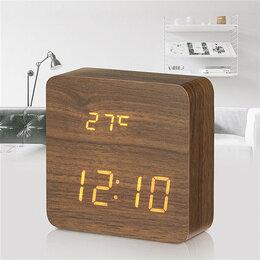 """Часы настольные и каминные - """"Деревянные часы"""" электронные VST-872-1, 0"""