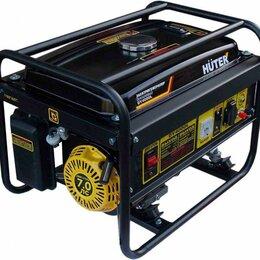 Электрогенераторы и станции - Генератор HUTER бензин DY4000L 3,0кВт, 0