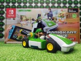 Игры для приставок и ПК - Mario Kart Live Home Circuit набор Луиджи (Switch), 0
