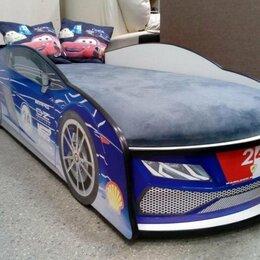 Кроватки - Кровать машина с ящиком, 0