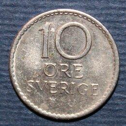 Монеты - 10 эре Швеция 1970, 0