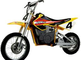 Машинки и техника - Электромотоцикл Razor Dirt Rocket MX650, 0