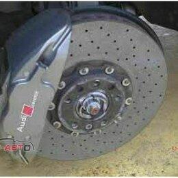 Кузовные запчасти  - Болт + гайка AUDI Q7. Болт м5х43+гайка+втулка для керамического диска 4F0698998, 0
