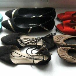 Босоножки - Пакетом 7 пар обуви р.40, цена за все вместе. Замшевые Aldo, T.Taccardi и др., 0