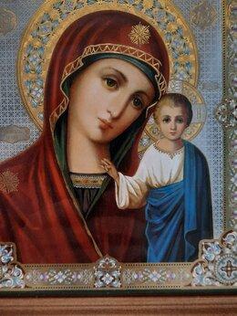 Иконы - Икона Девы Марии с младенцем. Новая, 0
