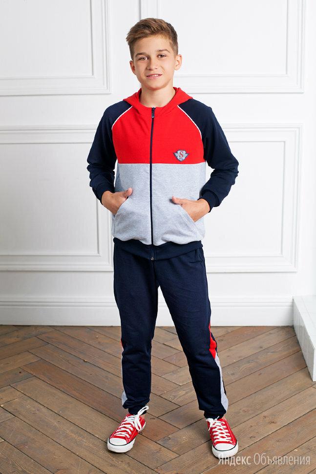 Костюм детский спортивный темно-синий с капюшоном СЖ-Форвард по цене 1990₽ - Комплекты и форма, фото 0