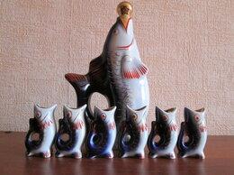 Статуэтки и фигурки - Фарфоровый набор Рыбья семейка, 0