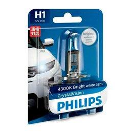 Лампочки - Галогенная лампа H1 Philips Crystal Vision 12V…, 0