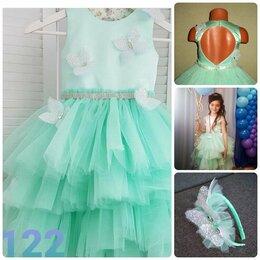 Платья и сарафаны - Распродаю нарядные платья на рост  110-128, 0