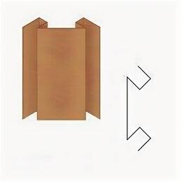Сайдинг - Сложный внутренний угол СВУ14 PRINTECH светлое…, 0