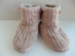 Домашняя обувь - Высокие домашние тапочки на девочку размер 31, 0