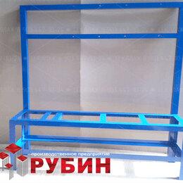 Мебель для учреждений - Стеллаж металл, 0