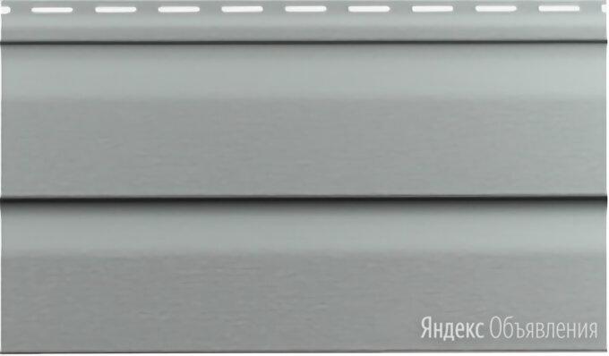 Виниловый сайдинг Vinylon Logistic Корабельный брус D4D Серо-голубой по цене 100₽ - Сайдинг, фото 0