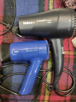 Фены и фен-щётки - 2 фена-valera silent energy 1600,и braun silencio, 0