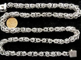 Цепи - Серебряная цепь Кардинал.Замок коробка.Вес 70…, 0
