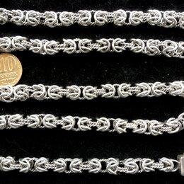 Цепи - Серебряная цепь Кардинал.Замок коробка.Вес 70 грамм,длина 62 см, 0