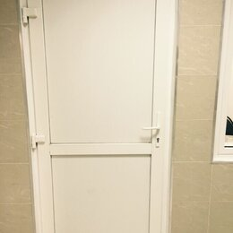 Входные двери - Дверь пластиковая 850*2100 правая, 0