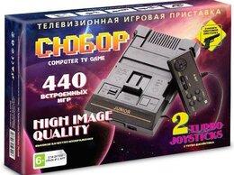 Игровые приставки - Игровая приставка 8 bit Сюбор 440 в 1 + 440…, 0
