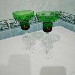 Бокалы и стаканы - Фужеры - подсвечники, 0