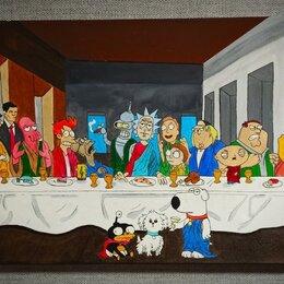 Картины, постеры, гобелены, панно - Картина 🖼 «Тайная вечеря» (под заказ), 0