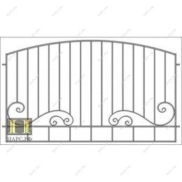 Заборчики, сетки и бордюрные ленты - Ограждения ( секция), 0