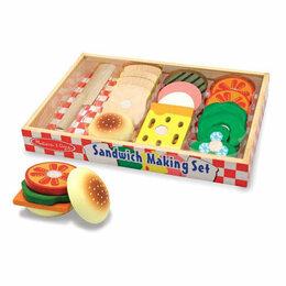 Развивающие игрушки - Экоигрушка Сэндвичи Sandwich Making из магазина, 0