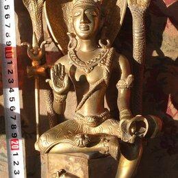Фигурки и наборы - бронзовая статуэтка Будда, высота 30 см, 0