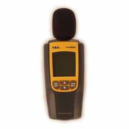 Измерительные инструменты и приборы - Измеритель уровня звука (шумомер) VA-SM8080, 0
