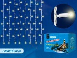 Интерьерная подсветка - Уличная светодиодная гирлянда Uniel занавес 220V…, 0