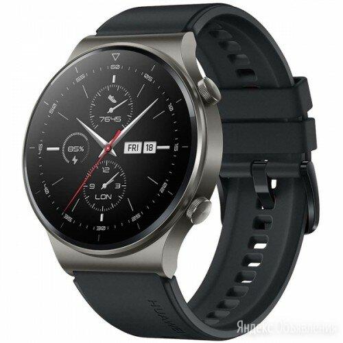 Смарт-часы Huawei Watch GT 2 Pro Black (VID-B19) по цене 19990₽ - Наручные часы, фото 0