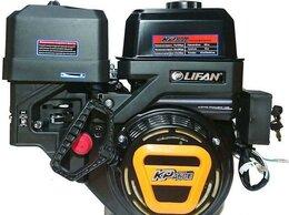Двигатели - Двигатель 20 л.с. Lifan 192F-2T KP460E с катушкой, 0