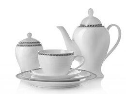 Кружки, блюдца и пары - Чайная пара Arista White, 0