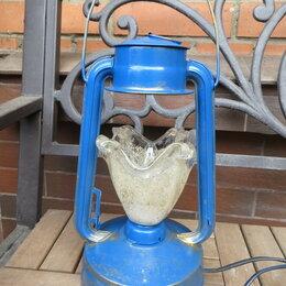 Ночники и декоративные светильники - Светильник Керосиновая лампа ретро , 0