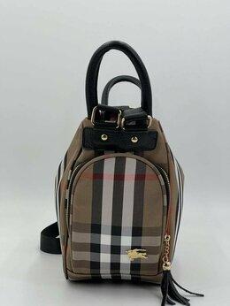 Рюкзаки - Новый Рюкзак - сумка Burberry текстиль, 0