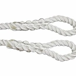 Веревки и шнуры - Трос буксировочный полиамидный д.48 мм L= 4м, 0