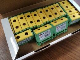 Электрические щиты и комплектующие - Клемма силовая вводная plc-kvs-16-50-y-green, 0