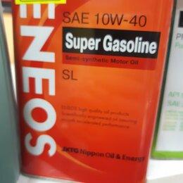 Масла, технические жидкости и химия - Масло Eneos Gasoline 10w40  1л, 0
