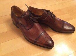 Туфли - Модельные мужские полуботинки, 0