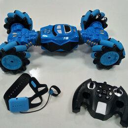 Радиоуправляемые игрушки - Машина-перевертыш р/у+управление жестами, 0