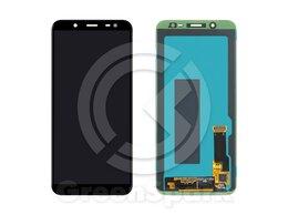 Дисплеи и тачскрины - Дисплей для Samsung J600F/DS Galaxy J6 2018 +тач , 0