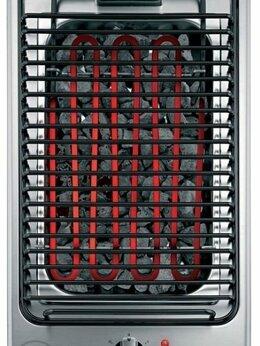 Электрические грили и шашлычницы - Встраиваемый гриль Hotpoint-Ariston DK B (IX) /HA, 0